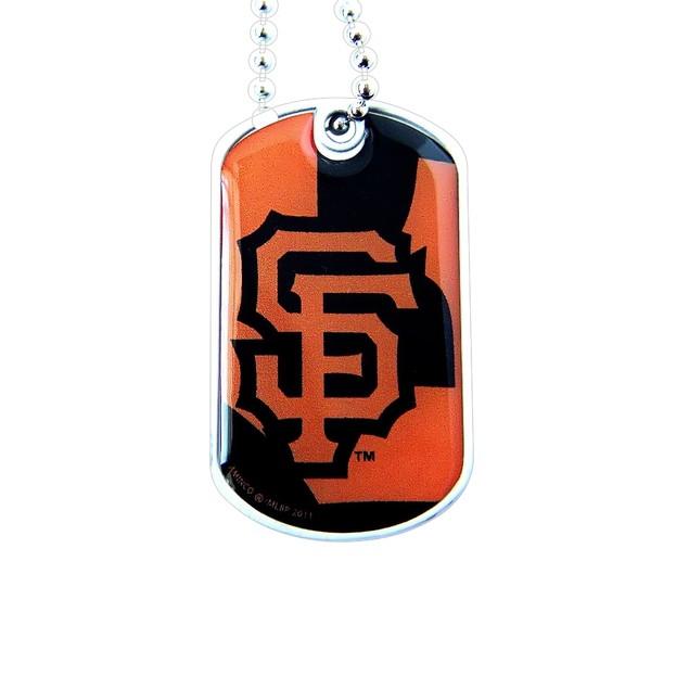 SAN Fransisco SF Giants Dynamic Dog Tag Necklace Charm Chain MLB