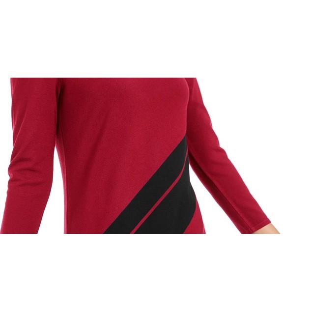 Alfani Women's Striped Asymmetrical Tunic Black Size Petite Medium