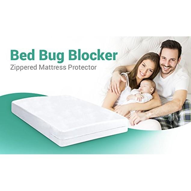 Ultimate Bed Bug Blocker Zippered Mattress Encasement