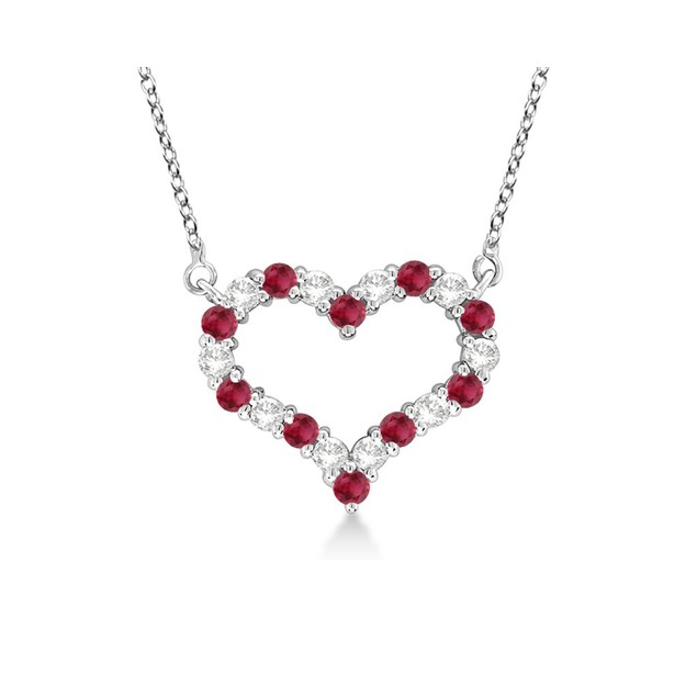 Novadab Sparkling Heart Valentine Special Pendant
