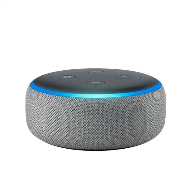 Amazon Echo Dot (3rd Gen) Smart Speaker with Alexa - Heather Grey