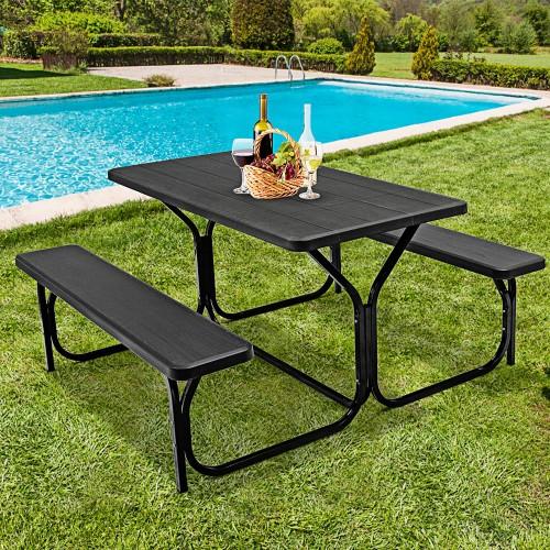 Costway Outdoor Picnic Table