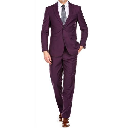Braveman Men's Slim Fit 2PC Suits