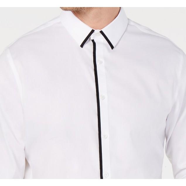INC International Concepts Men's Victor Shirt White Size 2XB
