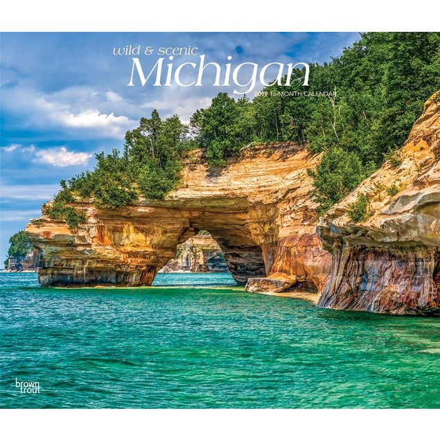 Michigan Wild and Scenic Wall Calendar, Michigan by Calendars