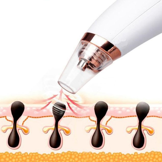 Visual Pore and Blackhead Cleaning Vacuum with Built in Camera