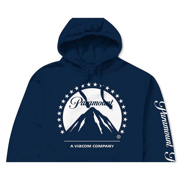 Paramount Logo Men's Hoodie Navy Size XX Large