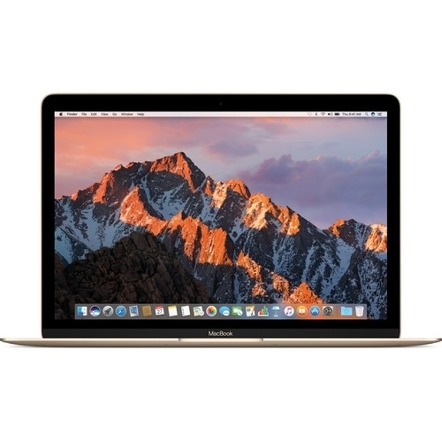 """Apple MacBook MNYK2LL/A 12"""" 256GB MacOSX,Gold(Certified Refurbished)"""