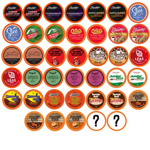 Two Rivers Coffee, Bit Of Everything Sampler, 40 Count K-Cup Pods