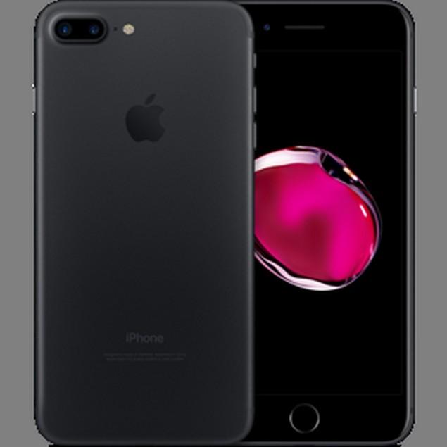 Apple iPhone 7 Plus, AT&T, Jet Black, 32 GB, 5.5 in Screen