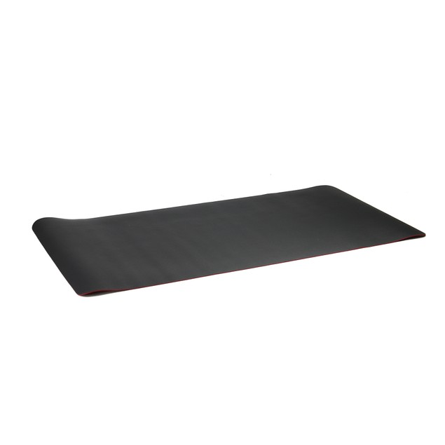Large Desk Mat | MandW Black/Red