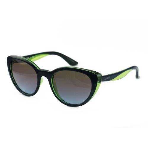 Vogue Sunglasses VO2963-S 2311/48 Blue/Transparent Green/Grey Plastic 53 20 140