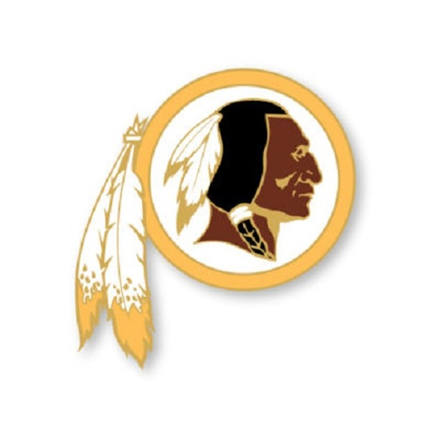 Washington Redskins NFL Logo Pin