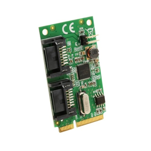 2 Port SATA III Mini PCI-e 2.0 Card
