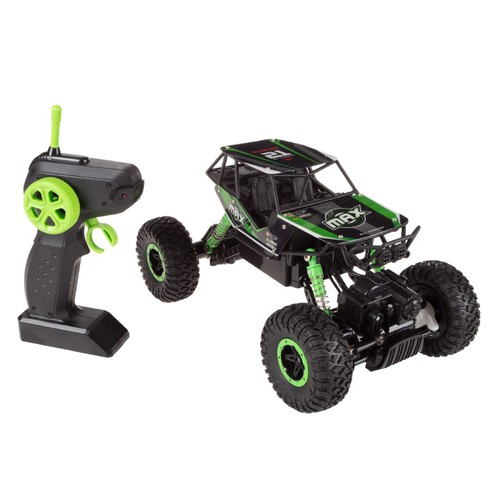 Remote Control Monster Truck 1:16 Scale, 2.4 GHz RC Off-Road Toy