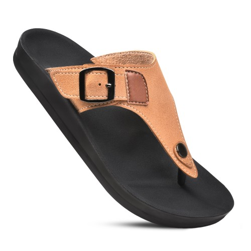AEROTHOTIC Women's Trench Arch Support Adjustable Strap Sandals