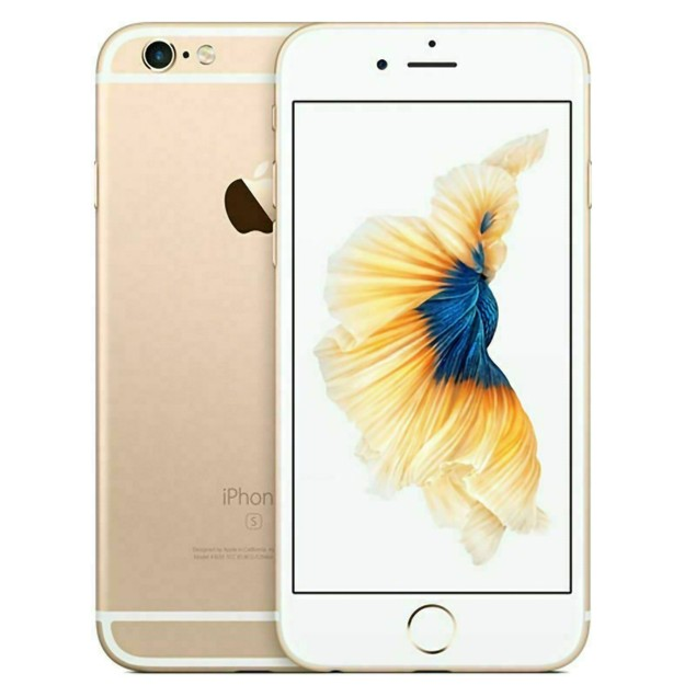 Apple iPhone 6s 128GB Verizon GSM Unlocked T-Mobile AT&T 4G LTE Smartphone Gold - A Grade