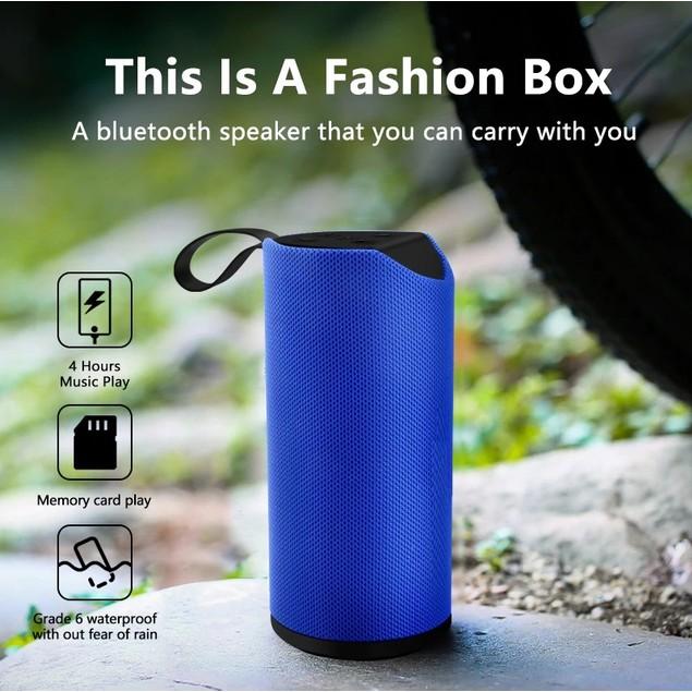 Waterproof Bluetooth IPX5 Rechargeable Speaker