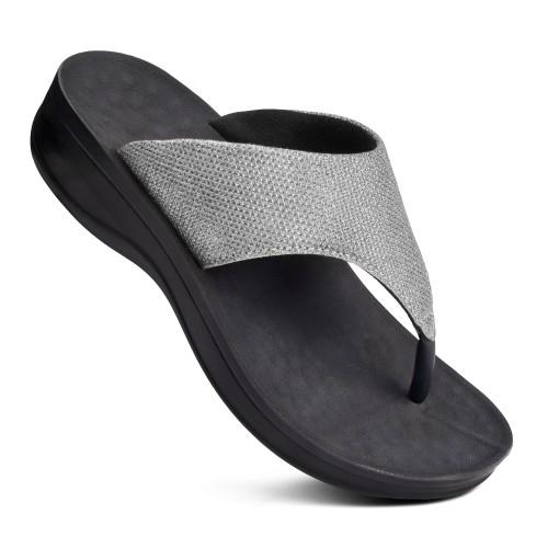 AEROTHOTIC Jewel Women's Comfortable Orthotic Platform Sandal