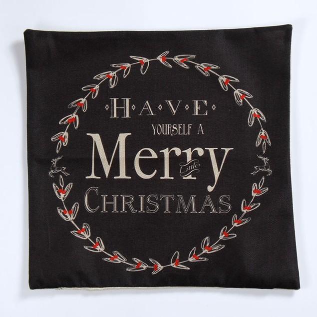 HOT!!! :45cm*45cm Vintage Christmas Sofa Bed Pillow Case Cushion Cover