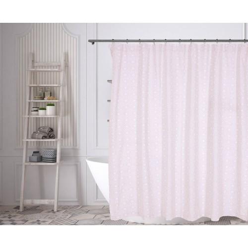 Liliana Medallion 100% Cotton Shower Curtain