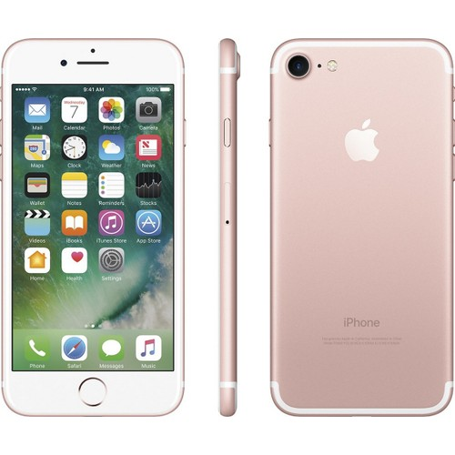 Apple iPhone 7, AT&T, Pink, 32 GB, 4.7 in Screen