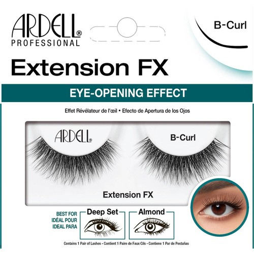 Ardell Professional Extension FX Eye Opening Effect B-Curl False Eyelashes