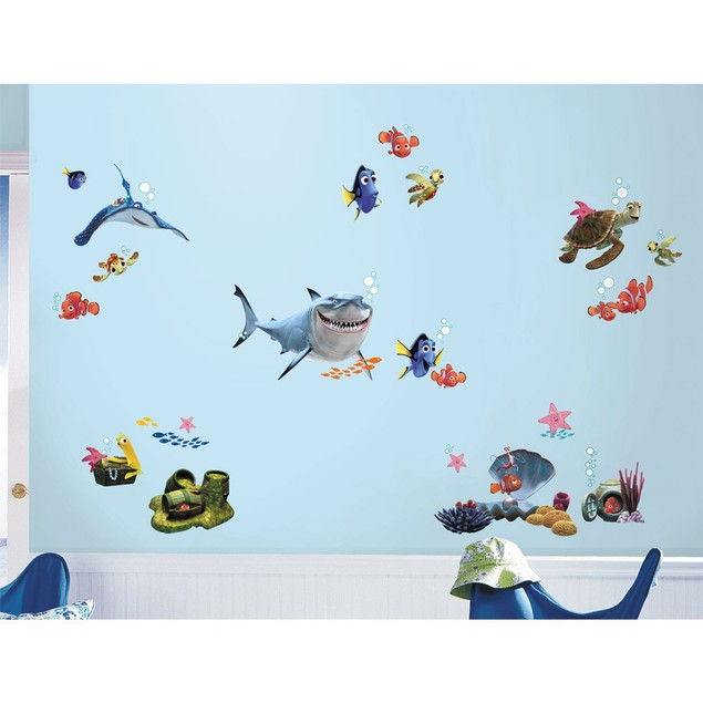 Roommates Baby Room Wall Decorative Disney Pixar Finding Nemo Wall Decals