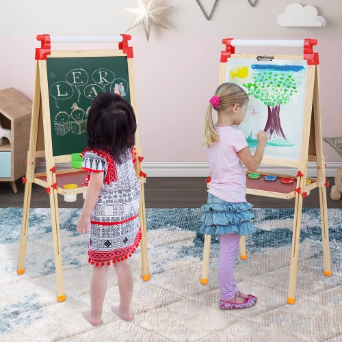 2 Style Children'S Liftable Easel