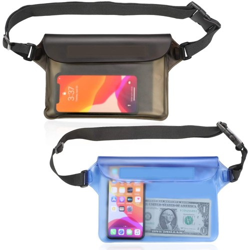 Waterproof Pouch Bag with Adjustable Waist Strap
