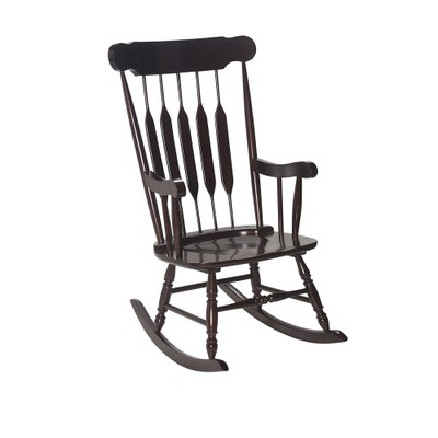 Gift Mark Adult Rocking Chair- Espresso Finish