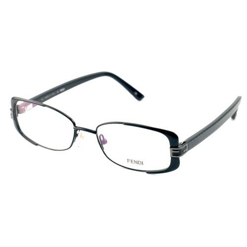 Fendi Eyeglasses Women Black Full Rim Rectangle 52 17 135 F944 001