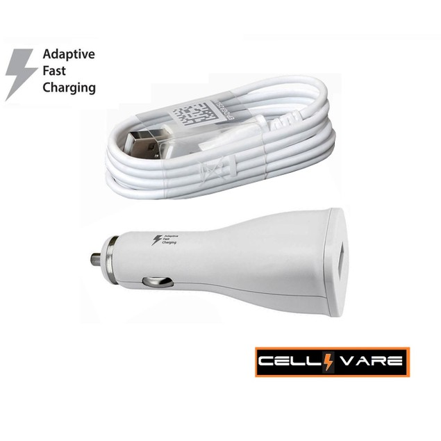 Adaptive Fast Single Port Car Charger for Samsung Galaxy with Micro USB