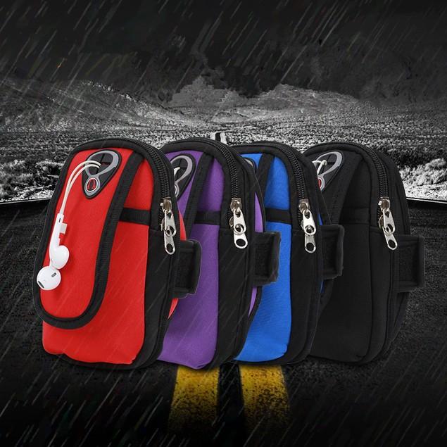 Unisex Waterproof Multifunctional Mobile Phone Arm Bag
