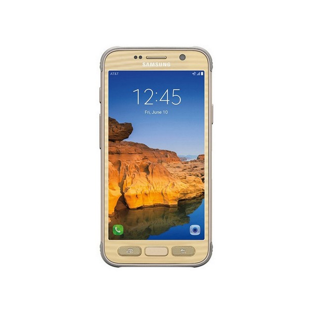 Samsung Galaxy S7 Active, AT&T, Grade B-, Gold, 32 GB, 5.1 in Screen