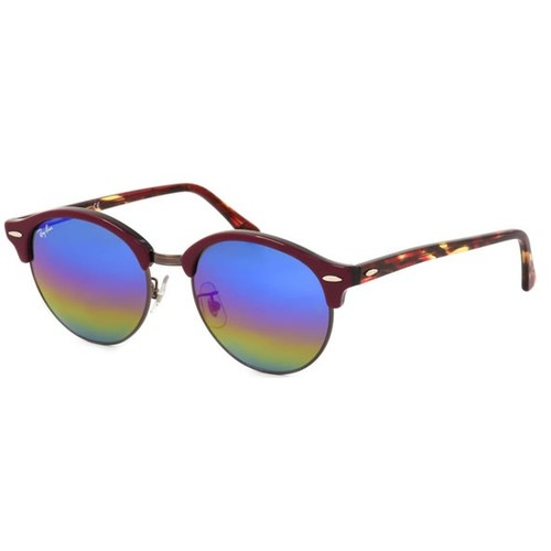 Ray-Ban CLUBROUND Brown Sunglasses RB4246F-1222C2-53