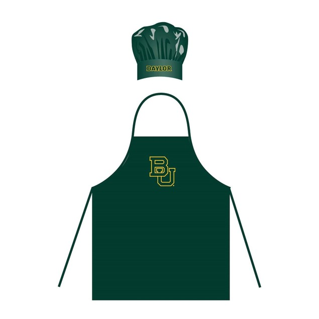 NCAA Baylor Bears Chef Hat And Apron