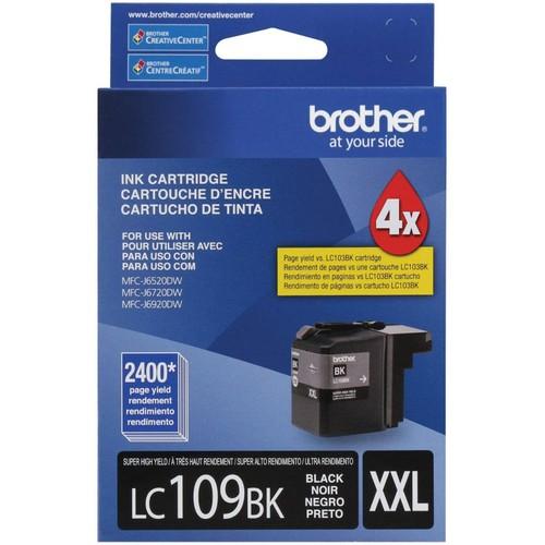 Brothers Brother Printer Ultra High Yield Inkjet Cartridge - Black (LC109BK)