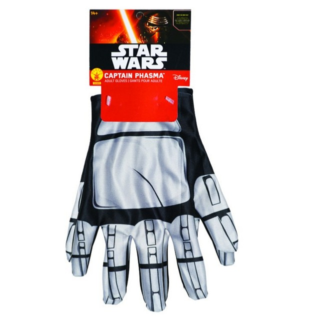 Captain Phasma Gloves Star Wars Force Awakens Movie Costume Accessory