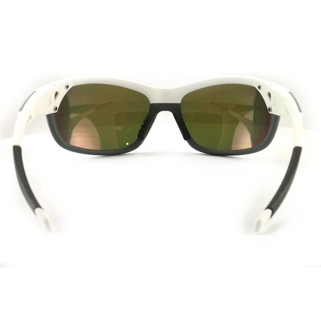 Smith Overdrive Men's Sunglasses 217/X6 White/Gray 61 17 135 ChromaPop