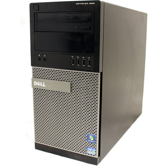 Dell 990 Tower Intel i5 4GB 250GB HDD Windows 10 Home