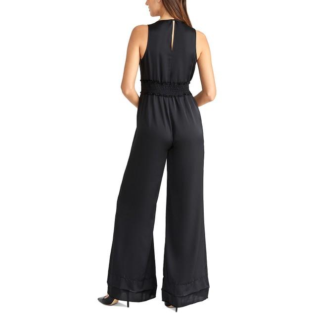 Rachel Roy Women's Wide-Leg Jumpsuit Black Size XX-Large