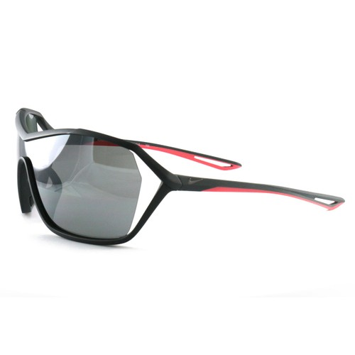 Nike Helix Elite Men's Sunglasses EV1036 010 Gray One Size Silver Flash