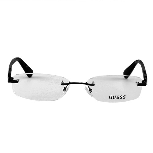 Guess Women's Eyeglasses GU2557 049 Brown 53 17 135 Rimless