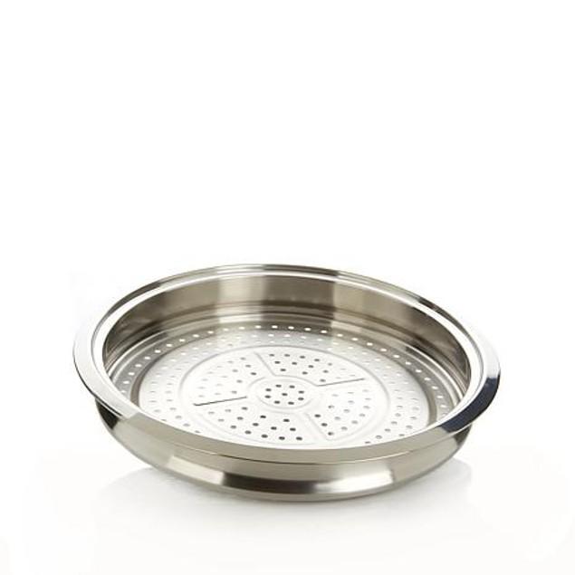 Curtis Stone Dishwasher-Safe Multipurpose Stainless Steel Steamer Tray