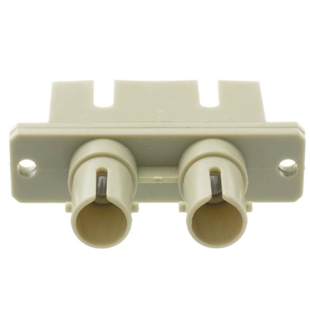Fiber Optic Adapter, ST Female to SC Female, Plastic Housing