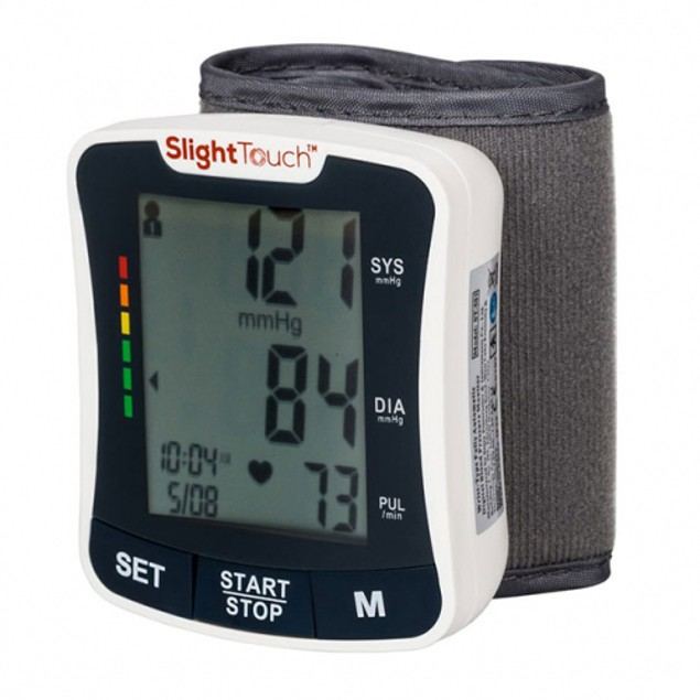 Blood Pressure Wrist Monitor with Large LCD Display