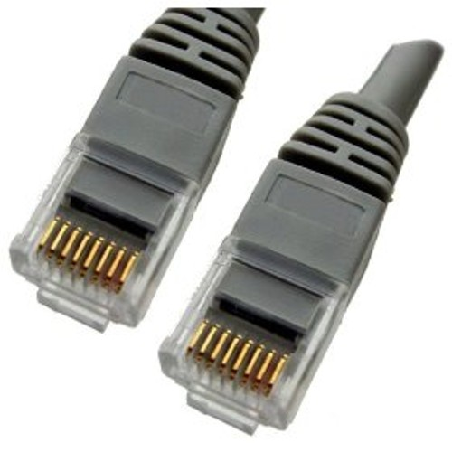 Gray Ethernet Network - Patch Cable - Molded Snagless Boot - 35 feet