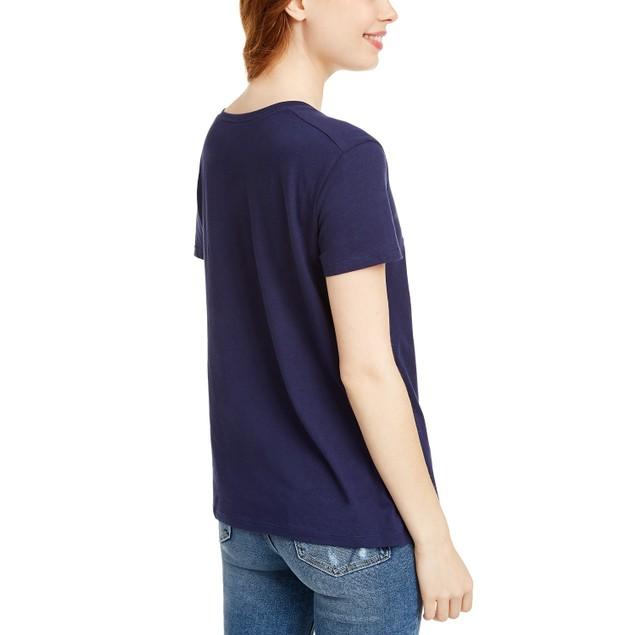 Disney Juniors' Frozen Graphic T-Shirt Medium  Blue Size Small