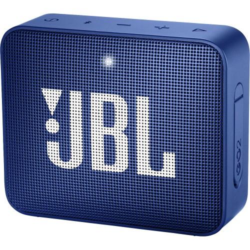 JBL GO 2WIRELESS WATERPROOF SPEAKER BLUE